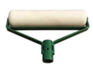 Валик капролоновый прикаточный для укладки резиновой крошки КВ-400