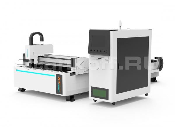 Установка оптоволоконной лазерной резки металла  XTC-1530W/2500 IPG