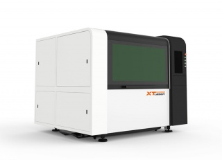 Оптоволоконный лазерный станок для резки металла XTC-F1309S/1500 Raycus