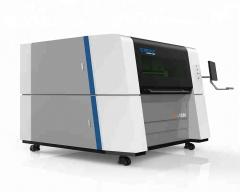 Высокоточный станок оптоволоконной лазерной резки металла LF1390/1000 Raycus
