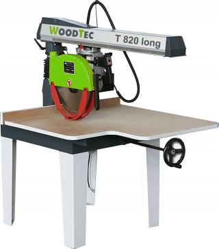 Торцовочный станок WoodTec T820 Long