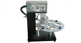 Полуавтомат для запайки пластиковых стаканов фольгой АДНК 19у12