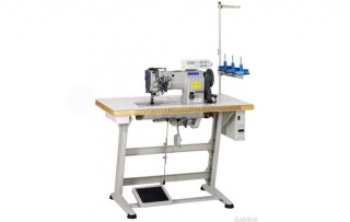 Двухигольная прямострочная промышленная швейная машина Garudan GF-234-447MH