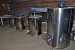 Ванна длительной пастеризации молока ВДПС-70
