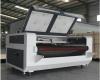 Лазерно-гравировальный станок с ЧПУ с конвейерным столом для резки ткани LM 1610 F