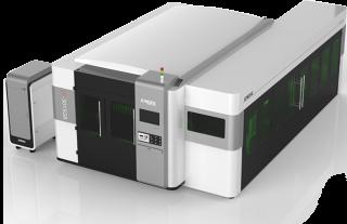 Волоконный лазер с труборезом и защитной кабиной LF3015GR/6000 Raycus Precitec