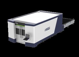 Оптоволоконный лазерный станок высокой мощности HS-G4020H/6000 IPG