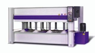 Гидравлический горячий пресс с плоскими столами Vario Press VP 30T-120/2