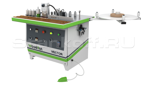 Станок для облицовывания кромок WoodTec Vector