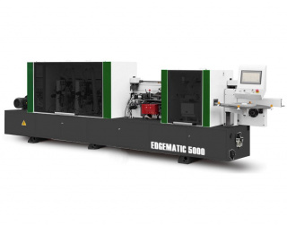 Автоматический кромкооблицовочный станок WoodMac EdgeMatic 5000F с клеевой циклей