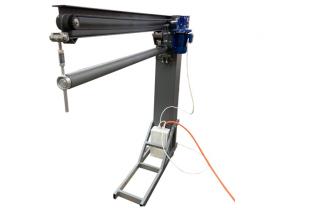 Электромеханический фальцеосадочный станок RME-2500х1mm