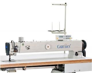 Прямострочная одноигольная длиннорукавная промышленная швейная машина Garudan GF-138-448MH/L100