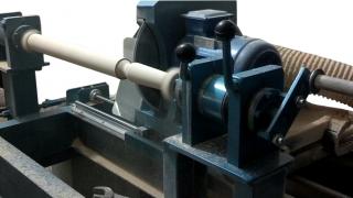 Токарный станок с ЧПУ для обработки балясин  ОБ-2+