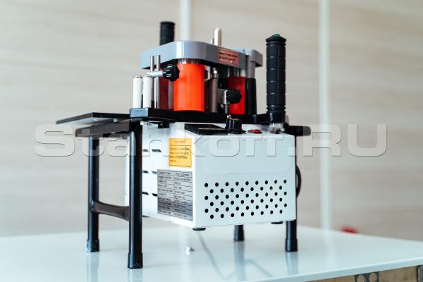 Кромкооблицовочный станок DM-100 с двумя клеенаносящими роликами