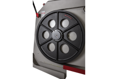 Полуавтоматический ленточнопильный станок с гидравлическим прижимом для пакетной резки JET HBS-2028DAS