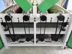 Рельефно-шлифовальный станок с 4-мя барабанами DT 630-4
