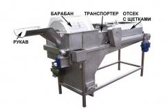 Машина моечная для огурцов ММ-753