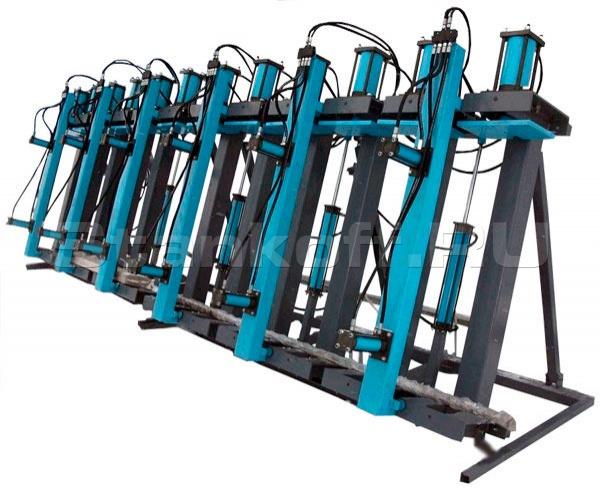 Пресс для склейки строительного и оконного бруса SLH200-9G