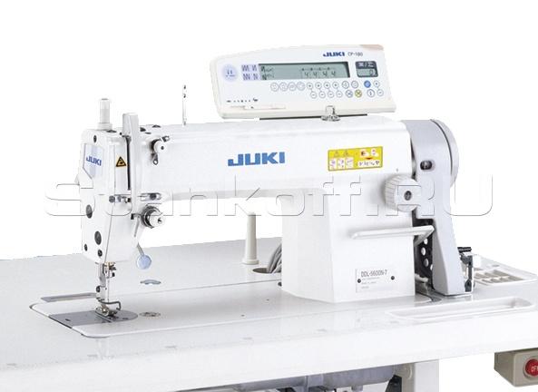 Прямострочная промышленная швейная машина с увеличенным челноком JUKI DDL-5600NJ-7FB/AK85