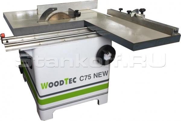 Круглопильный станок WoodTec C75 NEW