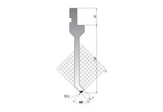 Пуансон для листогиба P.150-88-R06-L