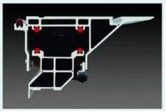 Форматно-раскроечный станок с роликовой кареткой и наклоном пилы E45-2500