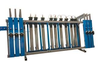 Пресс пневматический для бруса и щита SLP100-3-1350
