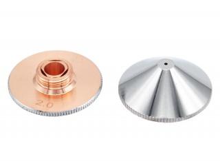 Оригинальное двойное сопло 3,5 мм Worthing WSX CT-S-35 для оптоволоконного лазера