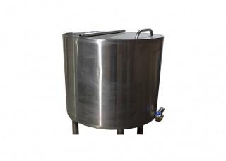 Резервуар для приемки и хранения молока Е-8000