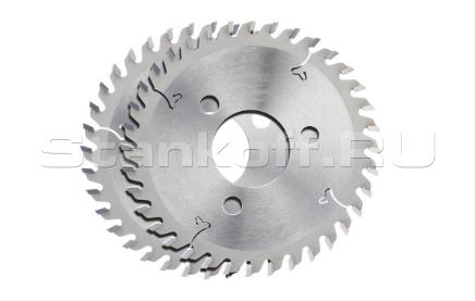 Пила дисковая твердосплавная пазовая DEKOR 120*35*4,0/3 z18 F