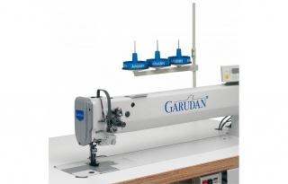 Длиннорукавная двухигольная промышленная швейная машина Garudan GF-238-448MH/L60/CD