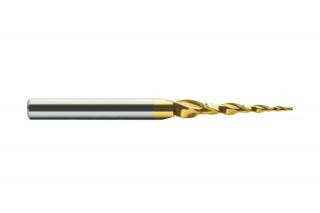 Конусная спиральная HW фреза KF2QX10.15.80