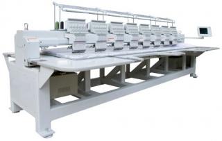 Промышленная двухголовочная вышивальная машина VE 1202 400 x 680