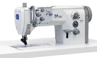 Двухигольная машина с тройным роликовым продвижением DURKOPP ADLER 887-260122