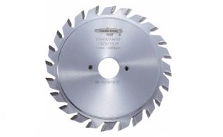 Пила дисковая твердосплавная подрезная GE 120*22*2,8-3,6/2,2 z12+12 F