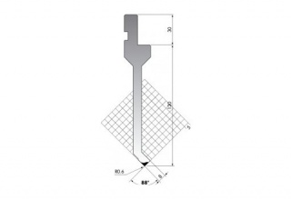 Пуансон для листогиба P.150-88-R06