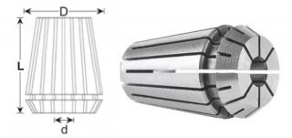 Цанга ER16-5 (DIN 6499B)