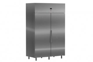 Холодильный шкаф двухдверный S1000 INOX