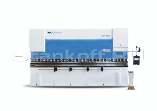Синхронизированный гидравлический листогибочный станок с ЧПУ WE67K 160/6000