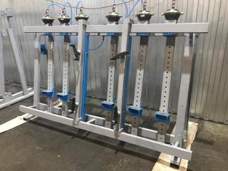 Пневматическая вайма для рамных конструкций и склейки столярных щитов ВП10-3000