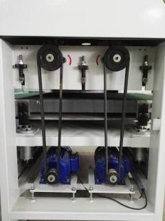 Рельефно-шлифовальный станок с 2-мя лепестковыми барабанами DT 1000-2