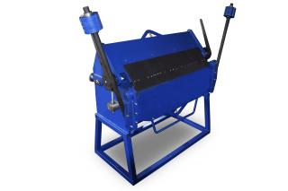 Ручной сегментный листогиб усиленный с противовесами ЛУП-3000
