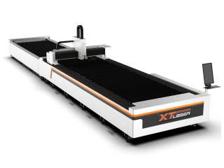 Оптоволоконный лазерный станок для резки металла XTC-1530HE/1000 Raycus