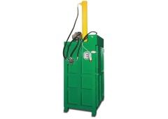 Вертикальный гидравлический пресс для металлических бочек (бочкодав) ПВТ-430