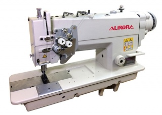 Двухигольная промышленная швейная машина AURORA A-845D-05 с прямым приводом