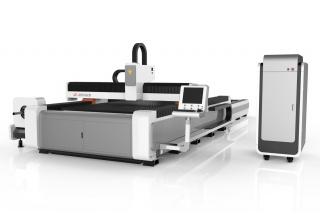 Оптоволоконный лазерный станок для резки листов и труб со сменным столом LF3015GCR/1500 Raycus