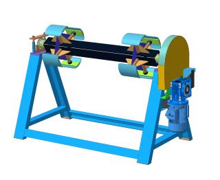 Разматыватель приводной рулонного металла РПМ-1250