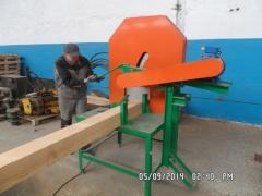 Торцовочный станок для бруса и бревна ТС-8