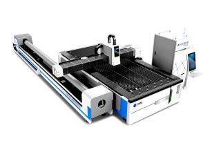 Оптоволоконный лазерный станок для резки листов металла и труб TC-F3015T/4000 Raycus