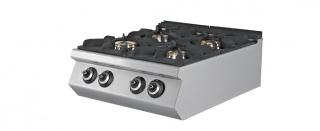 Газовая плита 4-х конфорочная EMP.PLS.7KG020